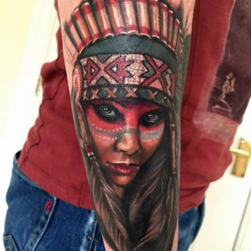 Forearm Tattoo Design For Women (female)