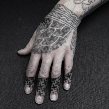 Hand Tattoo Design