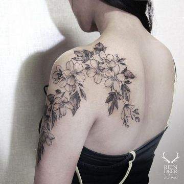 Shoulder Tattoo Design