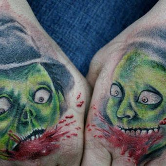 Zombie Tattoo Design