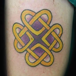 Celtic Knot Arm Tattoo Design