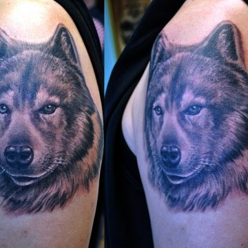 Realistic Tattoo Design
