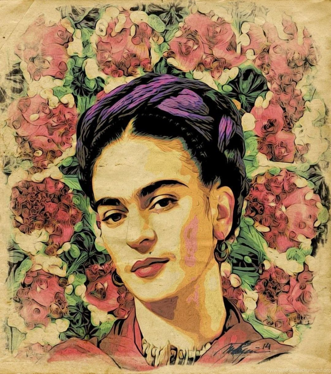 40 Frida Kahlo Art Desktop Android Iphone Desktop