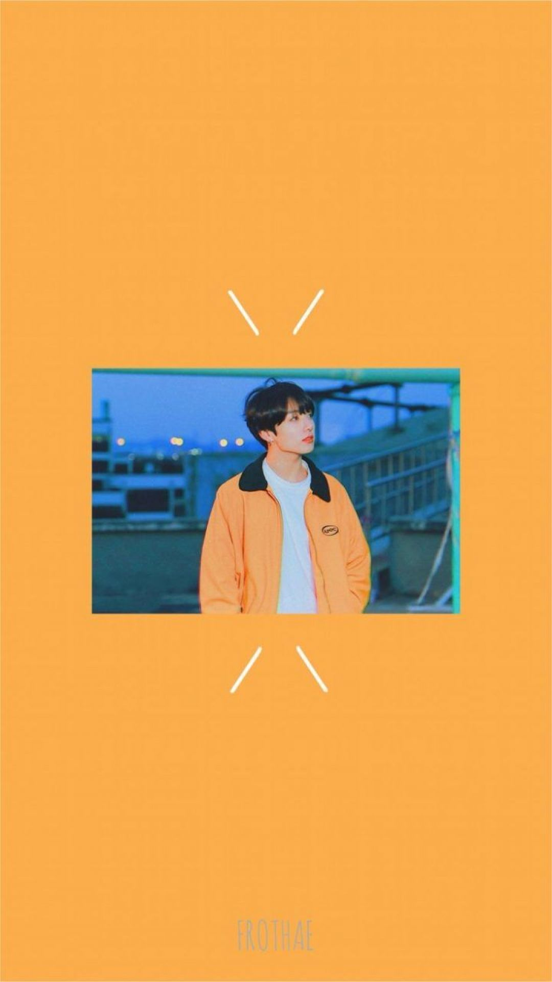 orange bts aestheticandroid iphone desktop hd backgrounds wallpapers 1080p 4k