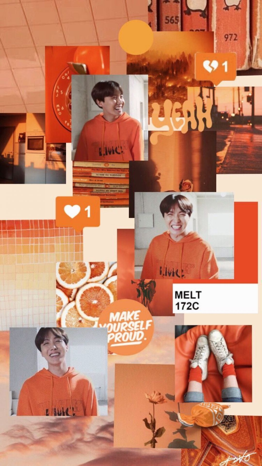 orange bts aestheticandroid iphone desktop hd backgrounds wallpapers 1080p 4k vc6py