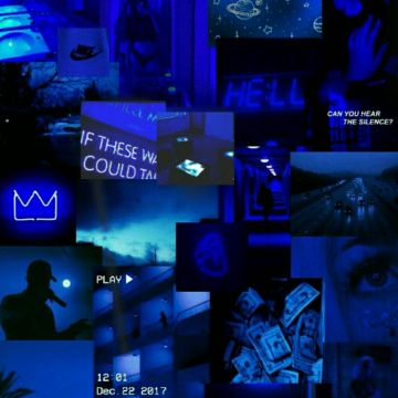 35 Dark Blue Aesthetic Tumblr Android Iphone Desktop Hd