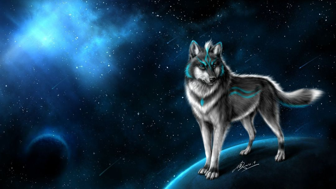 75 Galaxy Wolf Android Iphone Desktop Hd Backgrounds Wallpapers 1080p 4k 1920x1080 2020