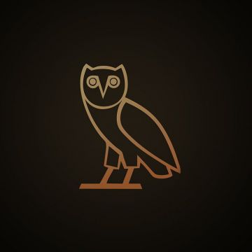 iPhone 6 Wallpaper - wallpaper ovo owl logo dark minimal - Android / iPhone HD Wallpaper Background Download