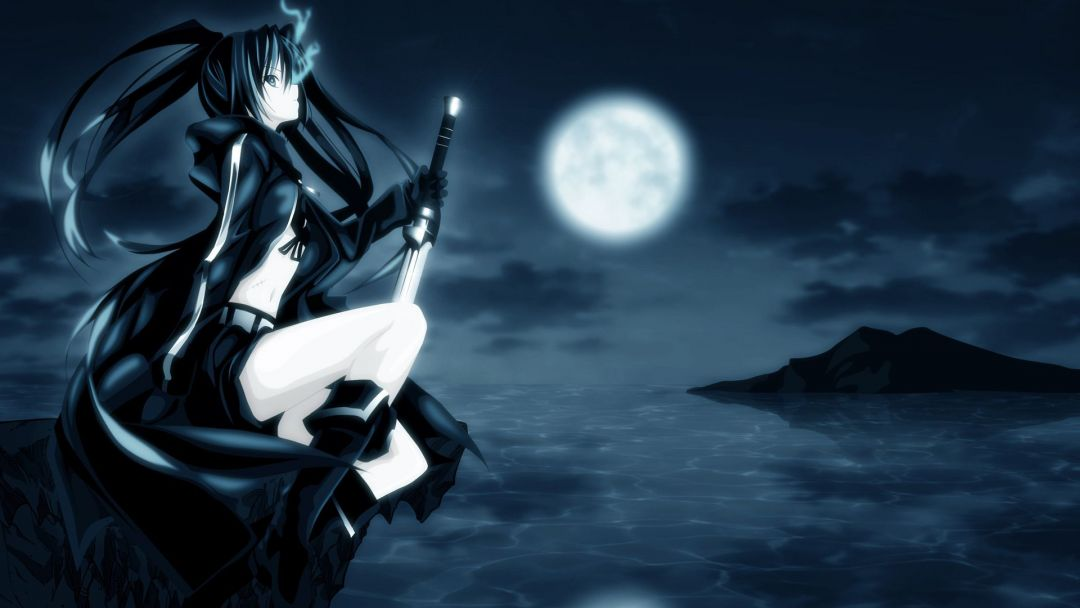 40 Dark Anime Girl Android Iphone Desktop Hd