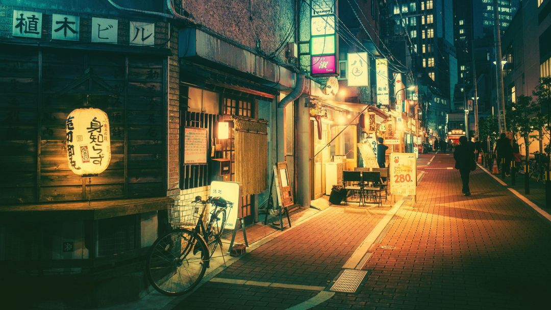 70+ Japanese Anime City - Android, iPhone, Desktop HD ...