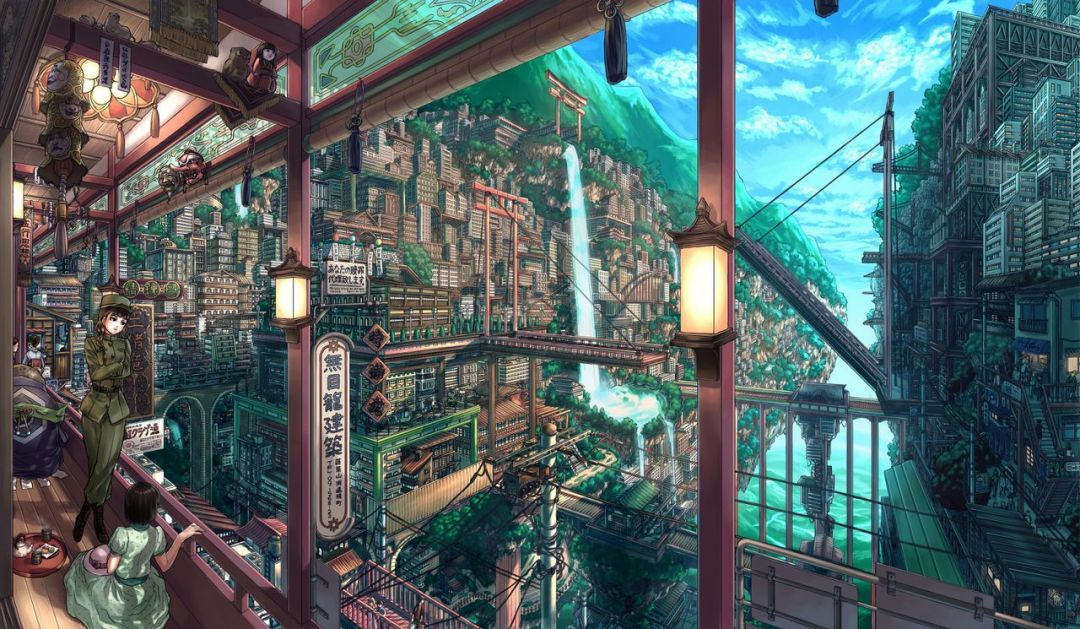 70 Japanese Anime City Android Iphone Desktop Hd Backgrounds Wallpapers 1080p 4k 1280x745 2020