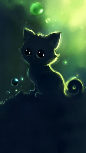 35 Kawaii Anime Cat Images Hd Photos 1080p Wallpapers Android Iphone 2020