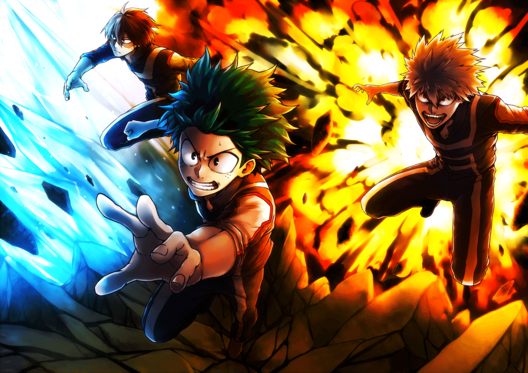 30 My Hero Academia Android Iphone Desktop Hd Backgrounds