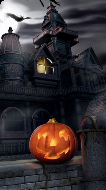 Live Halloween Wallpaper for iPhone - Android, iPhone, Desktop HD Backgrounds / Wallpapers (1080p, 4k)