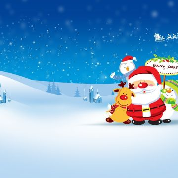 Santa Wallpaper HD - Android, iPhone, Desktop HD Backgrounds / Wallpapers (1080p, 4k)