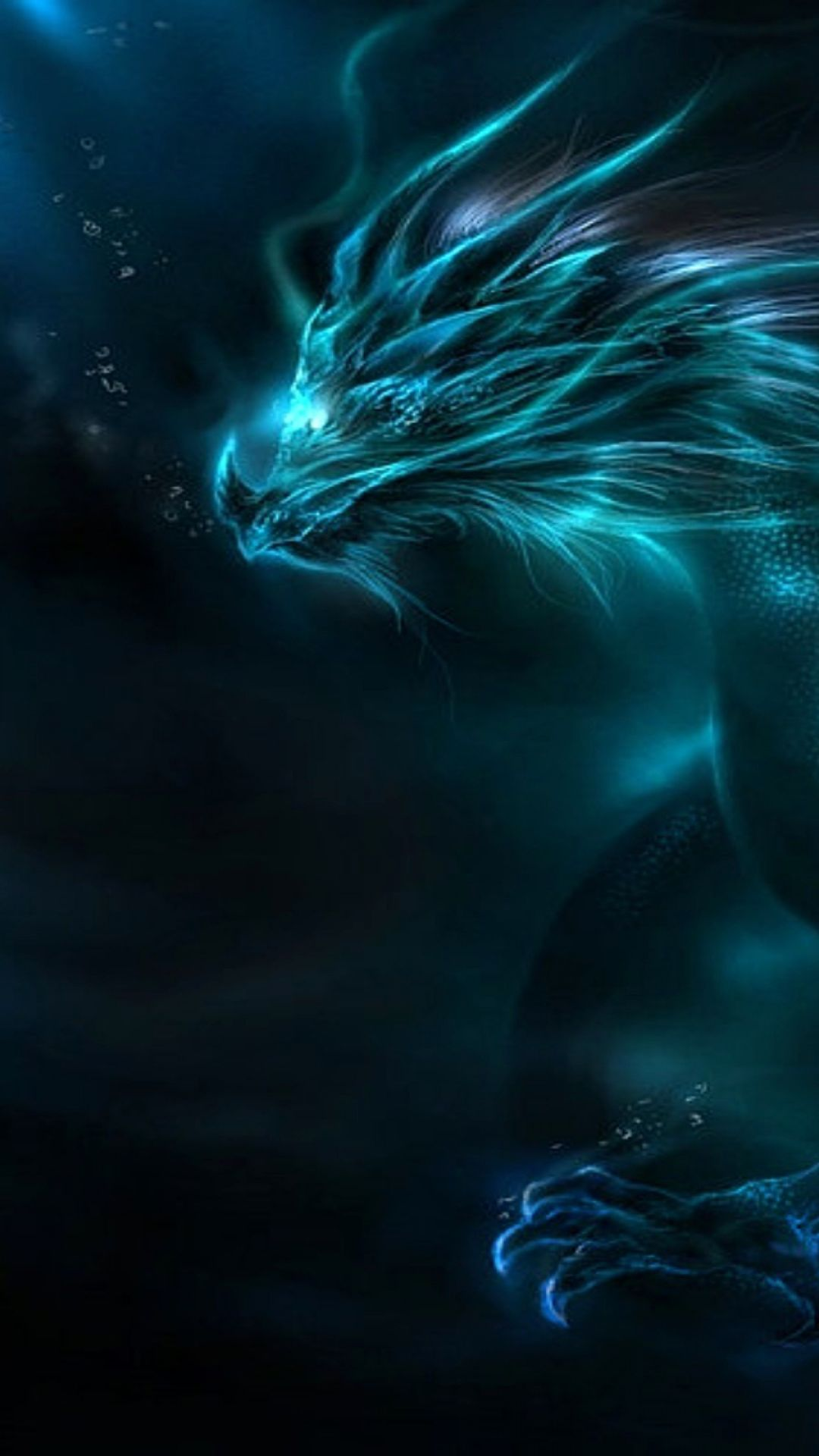Blue Dragon Wallpaper HD - Android, iPhone, Desktop HD Backgrounds / Wallpapers (1080p, 4k) (387908) - Dreamy / Fantasy