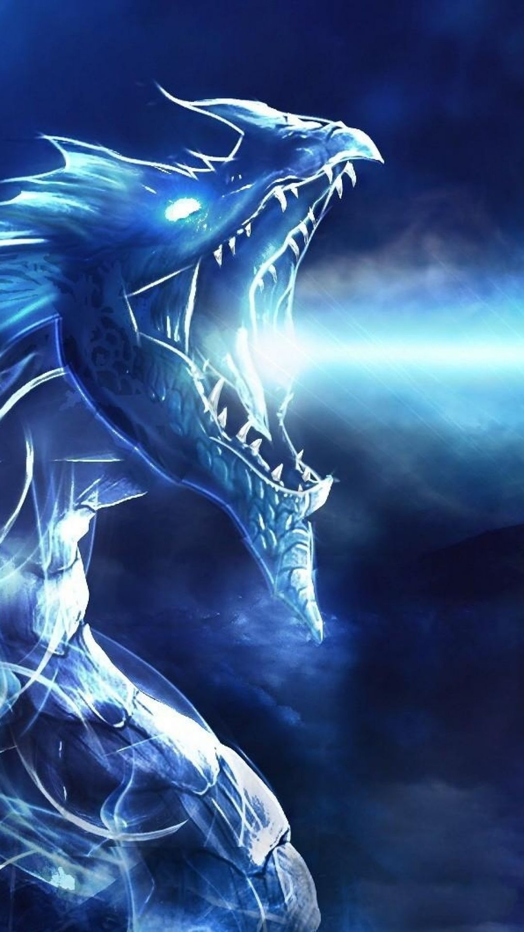 Blue Dragon Wallpaper HD - Android, iPhone, Desktop HD Backgrounds / Wallpapers (1080p, 4k) (387941) - Dreamy / Fantasy