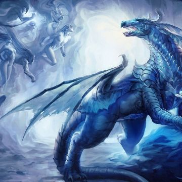 Blue Dragon Wallpaper HD - Android, iPhone, Desktop HD Backgrounds / Wallpapers (1080p, 4k)
