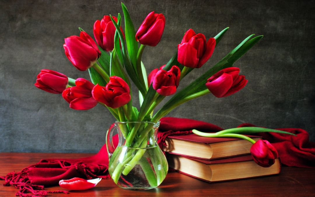 Tulips background - Android, iPhone, Desktop HD Backgrounds / Wallpapers (1080p, 4k) (408705) - Flowers