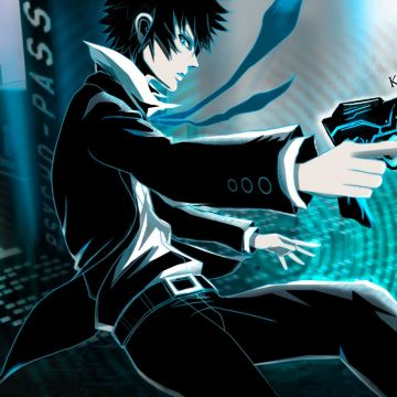 Psycho-pass Shinya Kogami Anime Anime Boys - Android / iPhone HD Wallpaper Background Download