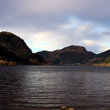 Mirror Sky Lake Lubnaig Water Nature Loch Lubnaig Colorfull Rebel Panda Johny Rebel Photography Bathgate Ray - Android / iPhone HD Wallpaper Background Download