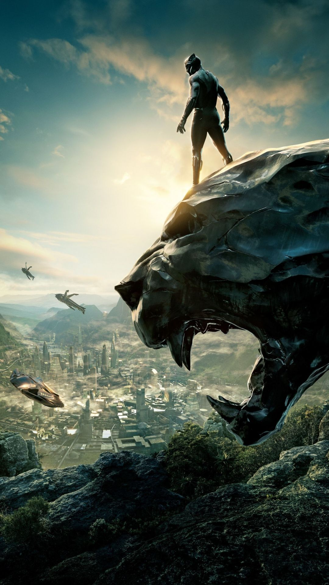 55 Black Panther Movie Android Iphone Desktop Hd Backgrounds Wallpapers 1080p 4k 1536x2733 2020