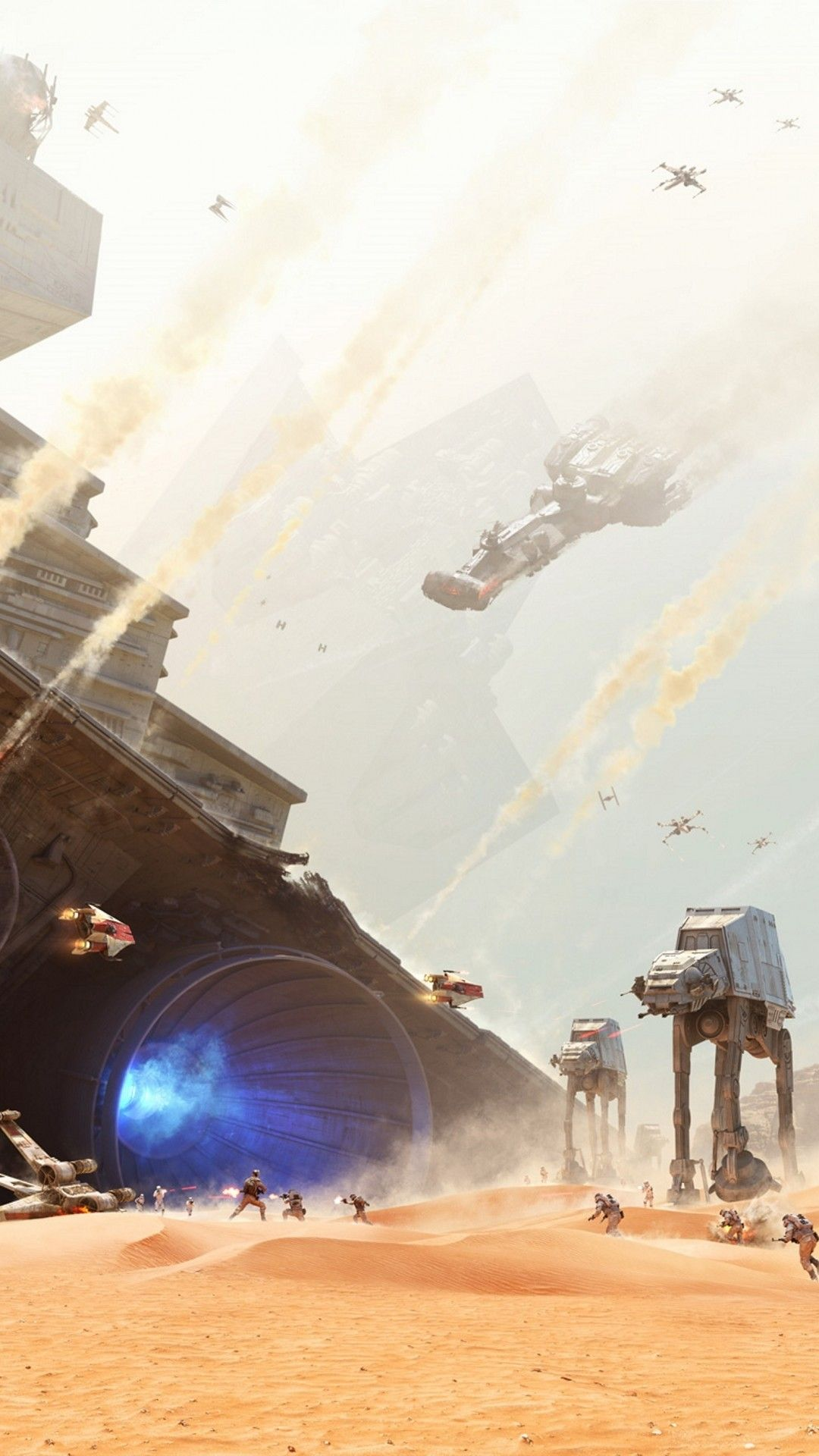 115 Star Wars Space Battle Android Iphone Desktop Hd Backgrounds Wallpapers 1080p 4k 1080x1920 2020