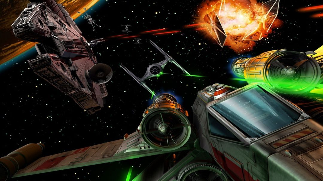 115 Star Wars Space Battle Android Iphone Desktop Hd Backgrounds Wallpapers 1080p 4k 1920x1080 2020