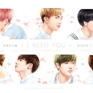 BTS Wallpaper I Need You - Android, iPhone, Desktop HD Backgrounds / Wallpapers (1080p, 4k)