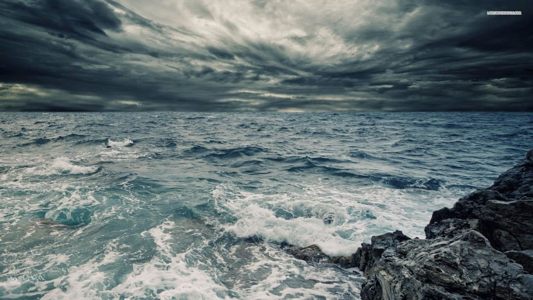 Stormy ocean - Android, iPhone, Desktop HD Backgrounds / Wallpapers (1080p, 4k) (458115) - Nature / Landscapes