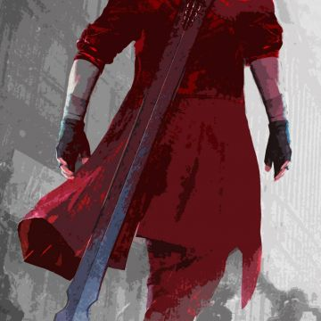 Dante HD Phone Wallpaper : DevilMayCry - Android / iPhone HD Wallpaper Background Download