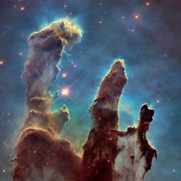 Pillars of Creation - Android, iPhone, Desktop HD Backgrounds / Wallpapers (1080p, 4k)