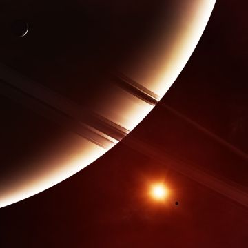Planets Ring 8k 8k HD 4k Wallpaper, Image, Background - Android / iPhone HD Wallpaper Background Download