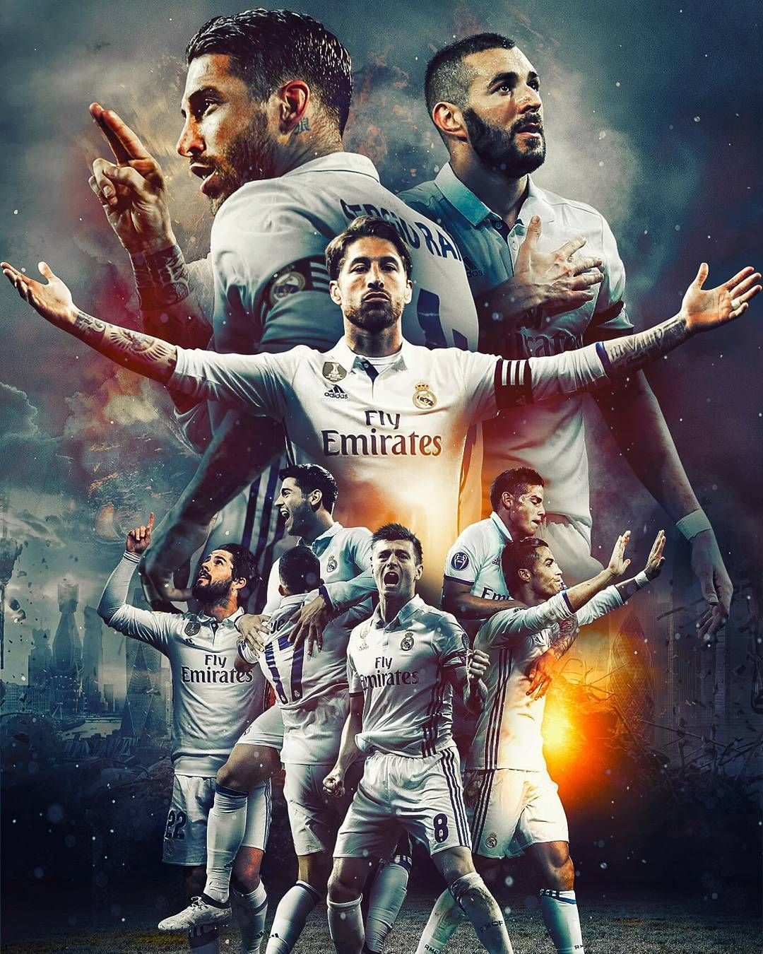 Real Madrid - Android, iPhone, Desktop HD Backgrounds / Wallpapers (1080p, 4k) (253454) - Sports