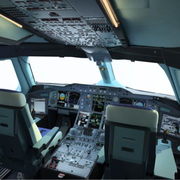 Airbus A380 Cockpit - Android, iPhone, Desktop HD Backgrounds / Wallpapers (1080p, 4k)