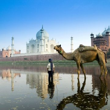 Yamuna River Agra India Wallpaper in jpg format for free download - Android / iPhone HD Wallpaper Background Download