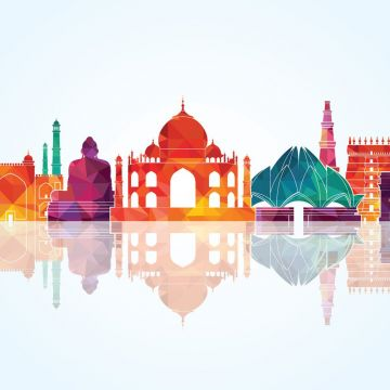 India Vector Wallpaper - Android / iPhone HD Wallpaper Background Download