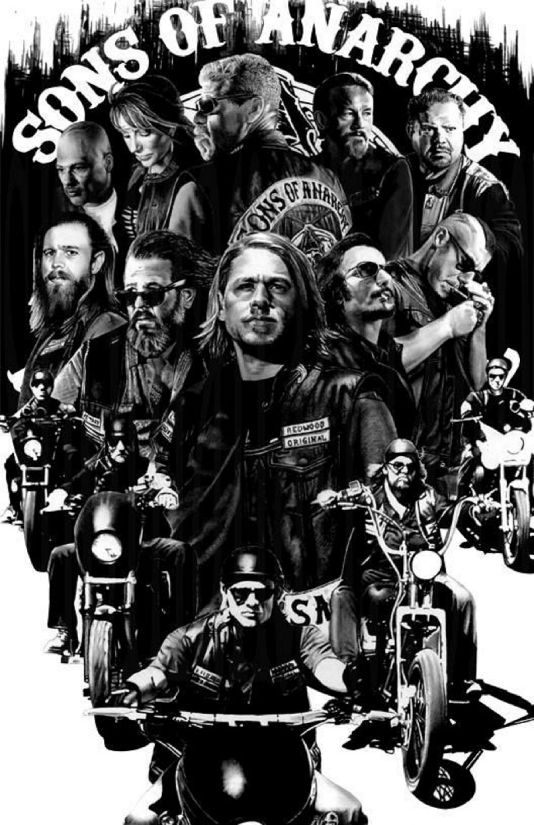 65 Sons Of Anarchy Wallpaper Iphone Android Iphone